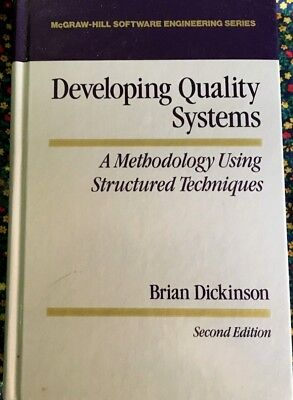 Developing  Quality Systems  By Brain Dickinson  2Nd  Edition  1989