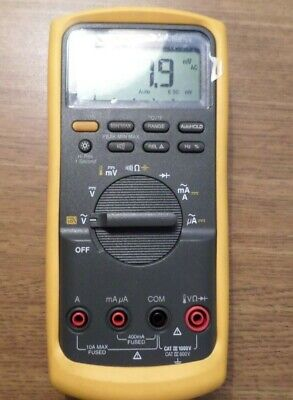 Fluke 87v Industrial True-rms Multimter With Temperature 30630263