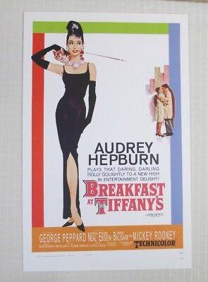 BREAKFAST AT TIFFANY'S Movie Poster Masterprint (11 x 17) - Audrey Hepburn