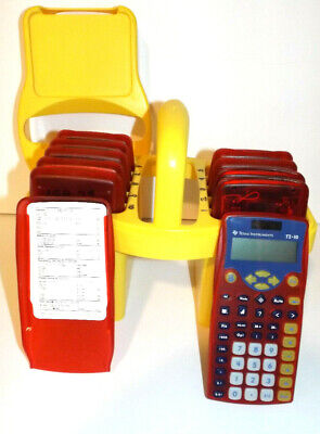 TEXAS INSTRUMENTS  TI-10 Teacher Kit 10 Scientific Calculators With Caddy