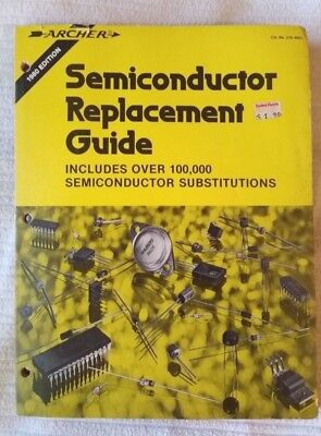 1980 Radio Shack Archer Semiconductor Replacement Guide
