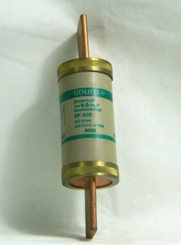 GOULD SHAWMUT RF 400 FUSE, 400 AMPS, 250 VAC