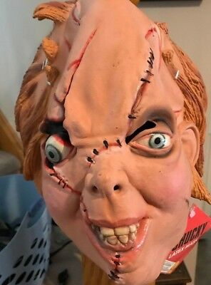 Vintage Chucky Bride of Chucky Latex Mask NEW w/ Tag Rubie's - Chuckie Mask