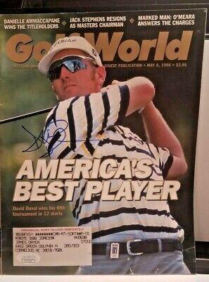 David Duvall Autographed Golf World magazine JSA COA Autographed Golf World Magazine