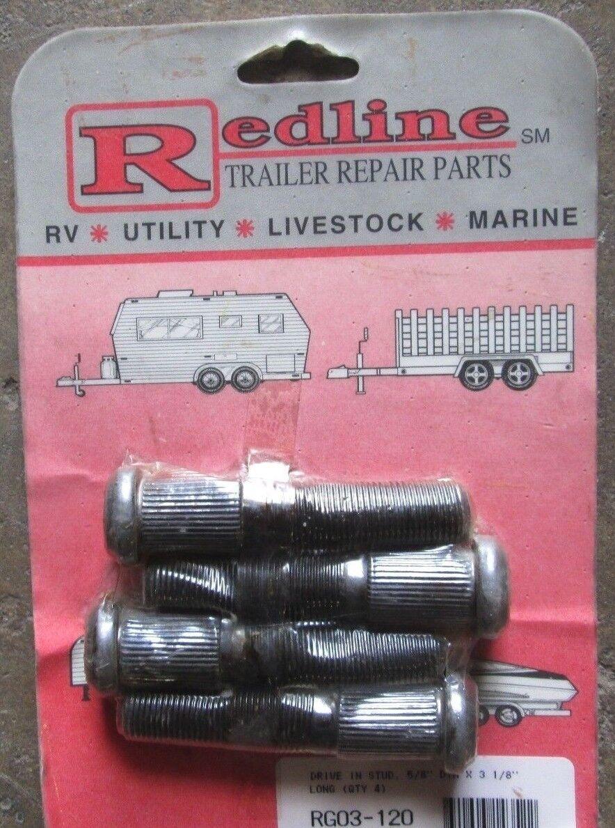 RG03-120, Redline Trailer Repair Parts, Drive in Stud