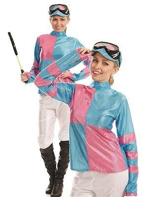ey Grand Nationell Kostüm Kleid Outfit 8-22 Übergröße (Damen Jockey Kostüm)
