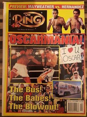 RING MAGAZINE: 1998 October (De La Hoya front cover), fine/clean!