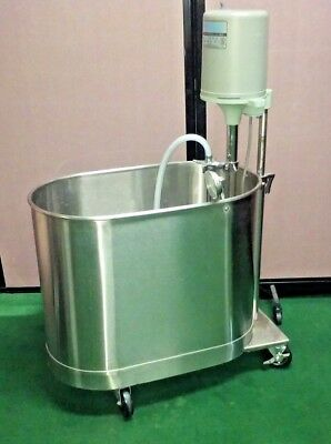 WHITEHALL MANUFACTURING MOBILE 27 GALLON HYDROTHERAPY EXTREMITY WHIRLPOOL MODEL  (Manufacturing Mobile)
