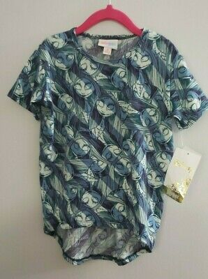 LULAROE Sz 4 GRACIE Top Tee Shirt Tunic Disney Collection NBC Sally NWT