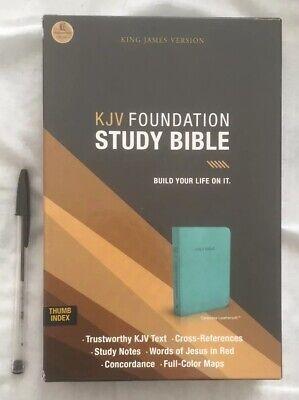 Kjv Foundation Study Bible.(Thumb Index)