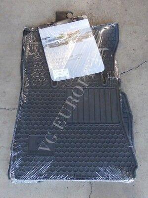 Mercedes Benz W221 S Class Genuine Rubber All Season Floor Mat Set Black 6680674