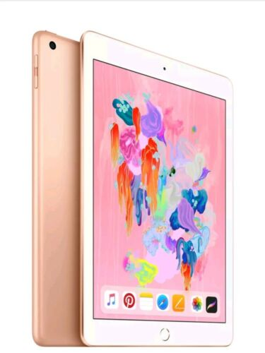 "Brand New Apple iPad 5th Generation A9 Chip 128GB gold 9.7"" MPGW2LL/A 2017 Wifi"