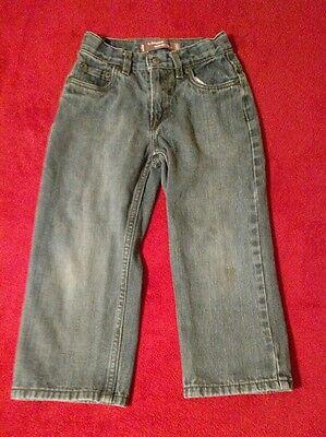 Levi's 569 Boy's Loose Fit Straight Leg Blue Jeans Size 5 Regular (W29 L16.5)