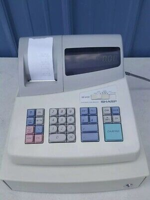Sharp Electronic Cash Register Xe-a101 Led Display Tested Working
