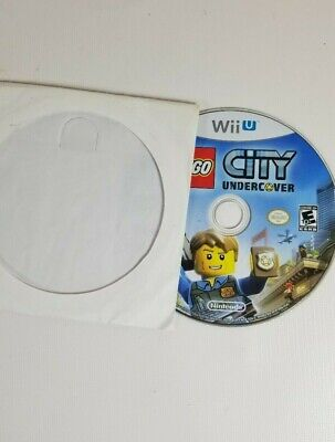 LEGO City Undercover (Nintendo Wii U, 2016) - Disc Only - Perfect Condition