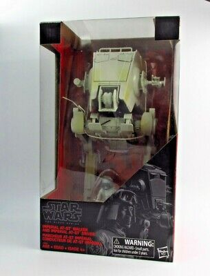 STAR WARS: THE BLACK SERIES - IMPERIAL AT-ST WALKER WITH DRIVER *RARE UK STOCK*