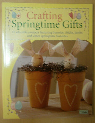 Crafting Springtime Gifts Tilda*bunnies,chicks,lambs,wall hangings,patchwork bag