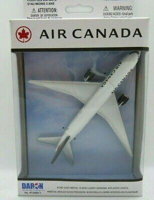 DARON REALTOY RT5884-1 Air Canada New Livery SINGLE PLANE Diecast. New Daron Air Canada