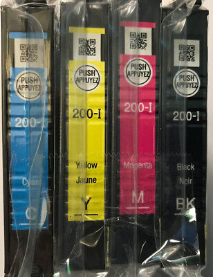 Blacks 200 Printer Cartridge - Genuine Epson 200-I Black Tri-Color ink Cartridge for Espon XP-300 400 Printer