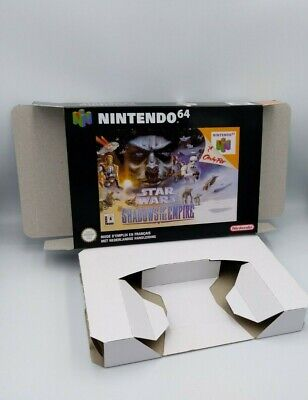 Star Wars Shadow of The Empire - Box reproduction - N64 - NTSC, PAL or AU PAL.
