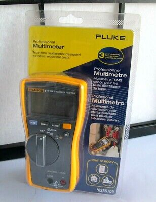 Fluke 113 True-rms Utility Multimeter 0235709