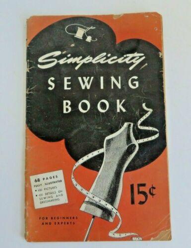 "Vintage ""Simplicity Sewing Book"" Booklet ©1945  #12894"