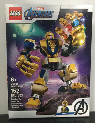 "Lego Marvel Avengers (76141) "" Thanos"" 152 PCs. Ages 6+. NIB."