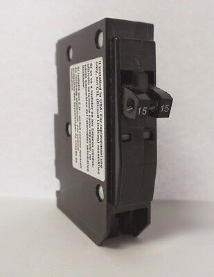 Qo1515 Square D 2-15 Amp 1 Pole 120v Tandem Circuit Breaker Red Visi-trip Indic