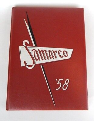 1958 Saint St. Martin's College, Lacey WA Samarco Yearbook Annual - Nice!