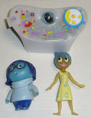 TOMY Disney Pixar Inside Out LOT The Console w/ Joy + Sadness & Memory Sphere