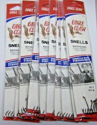 72 Original Snelled Eagle Claw 139