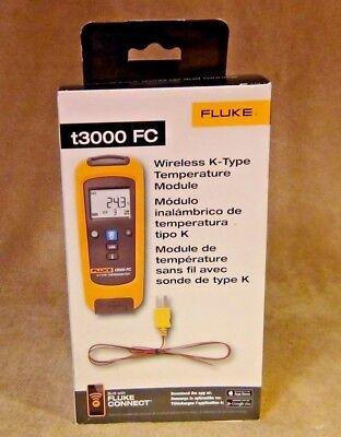 Fluke T3000fc Wireless K-type Temperature Module