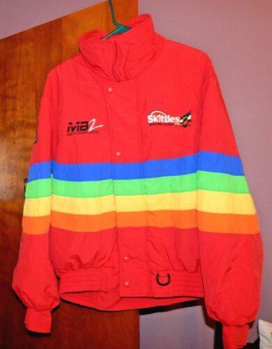 Track Gear #36 Skittles Racing Team / MB2 Motorsports Mens? Large? Racing Jacket