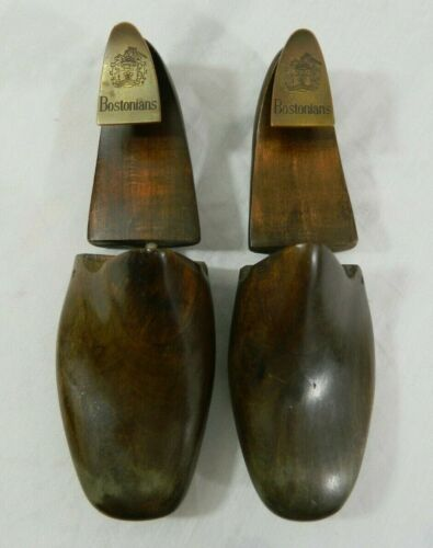 Vintage Wooden Bostonian Rochester NY Shoe Tree Co Shoe Keeper Forms 418 8C USA