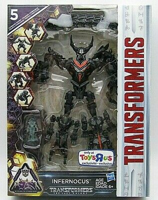 TRANSFORMERS The Last Knight INFERNOCUS 5 Bot Combiner Toys R Us Exclusive