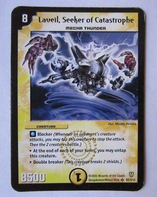 Duel Masters Magris,Vizer Of Magnetism L7//12 Duel Masters CCG Promo Card
