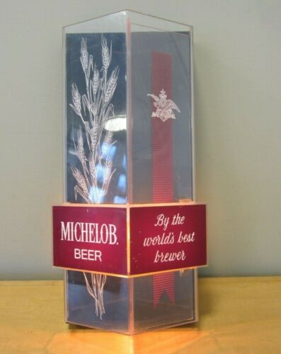 Vintage Michelob Beer Anheuser-Busch Lighted Sign Wall Sconce Beer Sign