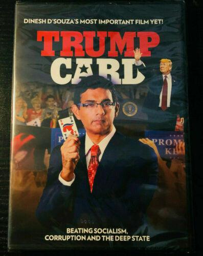 TRUMP CARD (DVD, 2020) BRAND NEW! Documentary Free Shipping