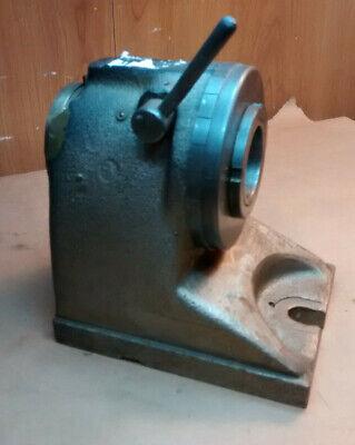 Hardinge Bro H-4 Horizontal 5c Collet Index Fixture Machinist Tool 24 Chipped