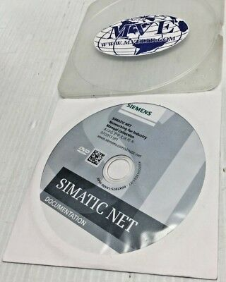 Siemens 6gk1975-1aa00-3aa0 A5e00069051 Simatic Net Software Disk Only New