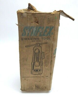 Samuel Moore And Company Synflex 4530-01002 Swaging Tool With Original Box