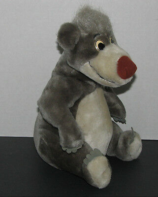 Disney Jungle Book Baloo Plush Stuffed Animal Toy 12 Inch