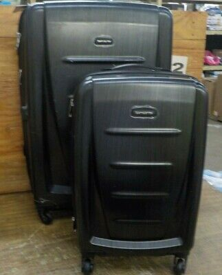 Samsonite Winfield 2 Hardside Luggage, Brushed Anthracite, 2-Pc Set (20/28)