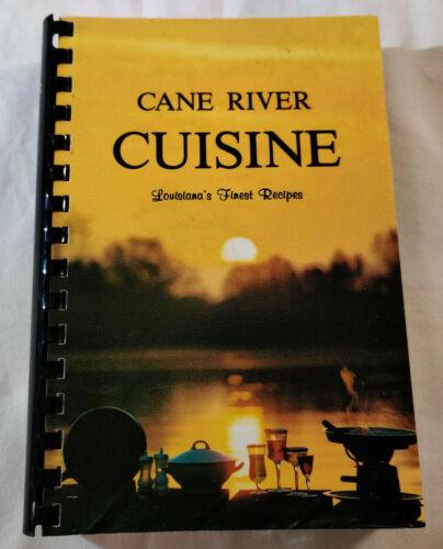 CANE RIVER CUISINE LOUISIANA FINEST RECIPES Natchitoches Creole Cajun cook book