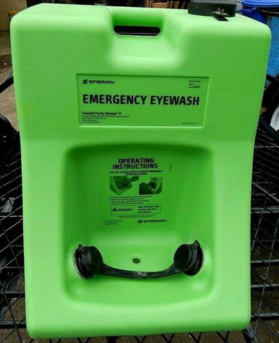 Eye Wash Station. Portable, 10 gallon, Complete, Clean & Excellent Condition.