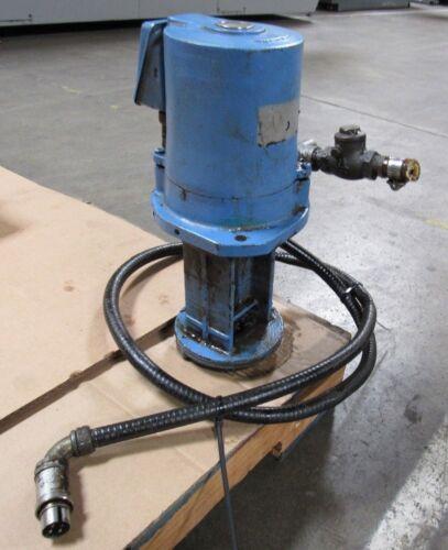 ELECTRIC OIL PUMP FROM ROKU-ROKU VERTIMAC-B RRS VMC MILLING MACHINE