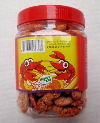 READY TO EAT Crispy Shrimp Snack NO MSG cracker food 7oz US Seller FREESHIP