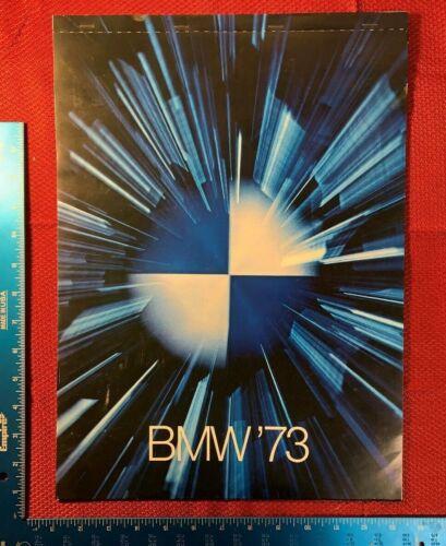 VINTAGE BMW CALENDAR FROM DEALERSHIP 1973   101B