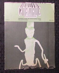 1972 CINEMAGIC Magazine #1 VG- Amatuer Fantasy Film & Filmakers