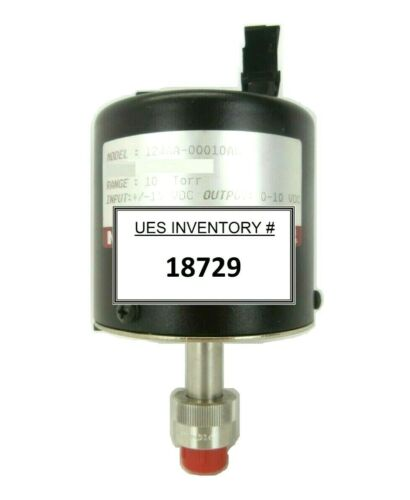 MKS Instruments 124AA-00010AB Baratron Pressure Transducer Working Spare